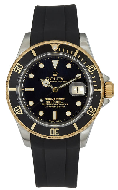 Rolex Submariner Black Ref: 16613