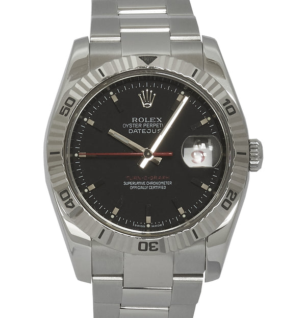 Rolex Datejust Turn-O-Graph, Grey Dial (B&P 2007)
