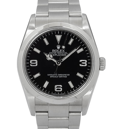 Rolex Explorer I, Engraved Rehaut. Ref: 114270 (2010 Box & Card)