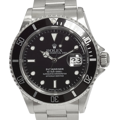 Rolex Steel Submariner Ref: 16610 (1995) Tritium (Rolex Papers)