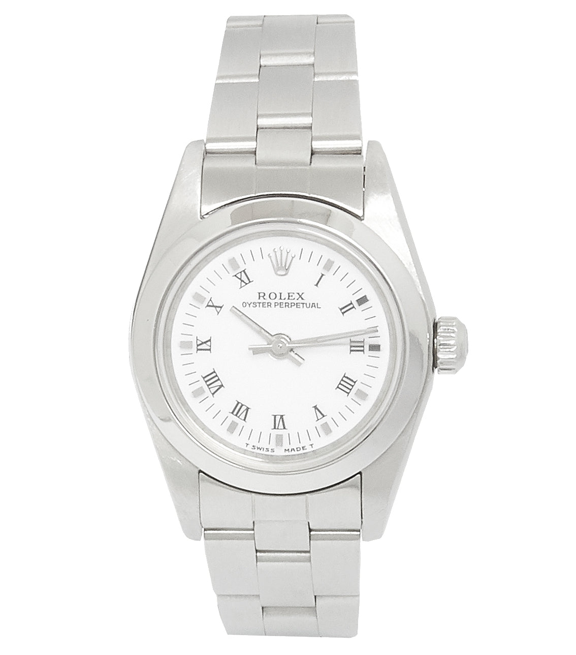 Rolex Oyster Perpetual Ladies No Date, White Dial. Ref: 76080 (1999)