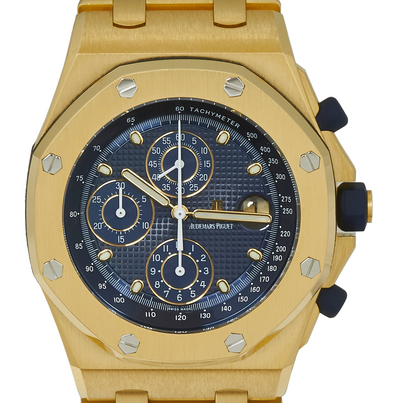 Audemars Piguet Royal Oak Offshore Yellow Gold Chronograph 'Brick'