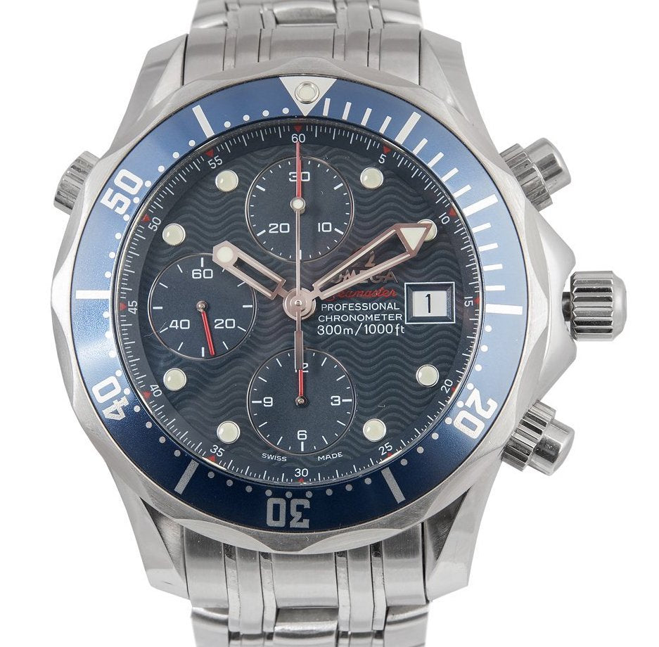 Omega Seamaster Chronograph Watch Reconnaissance Military Edition