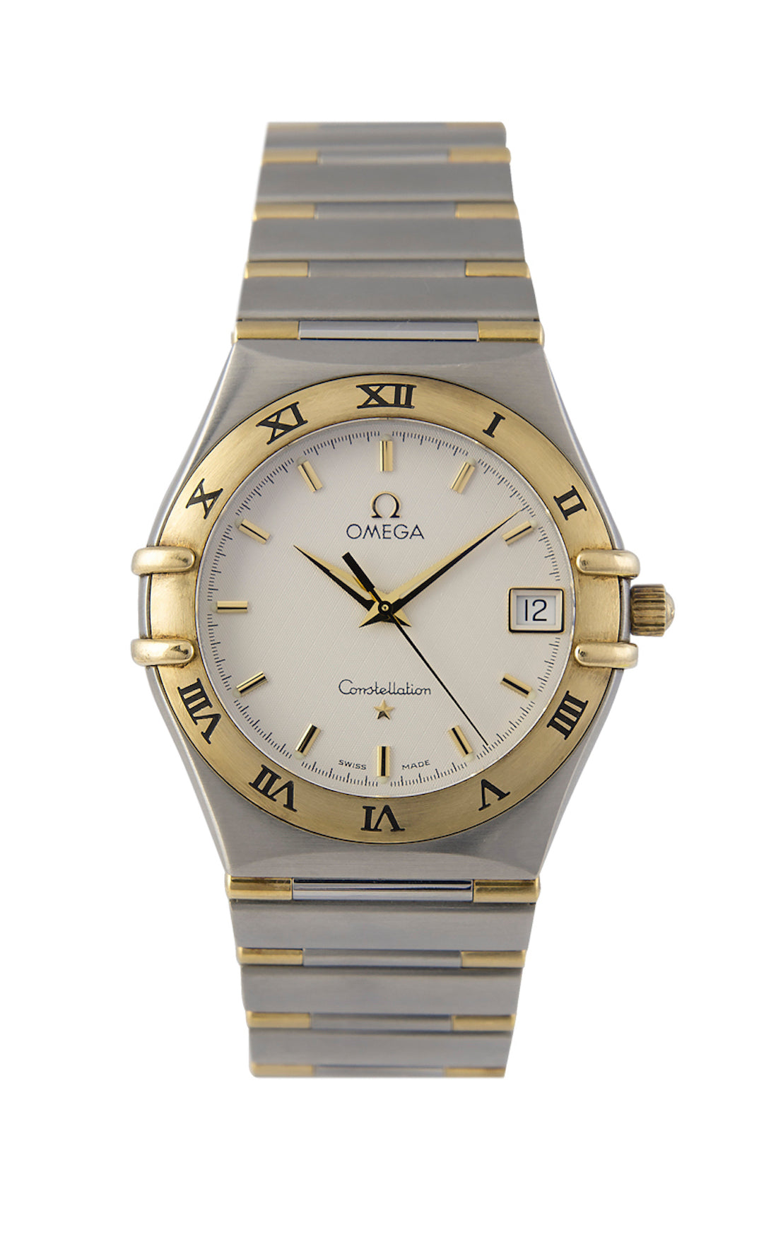 Omega Constellation Quartz Gents Bimetal