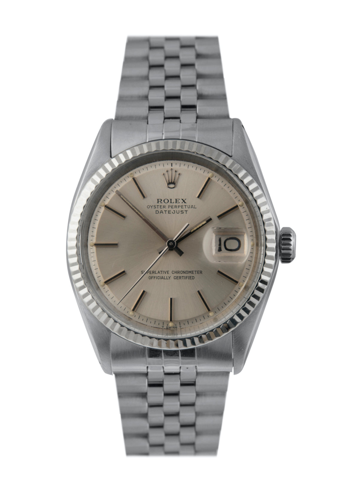 Rolex Vintage Steel Datejust Watch with Original Papers, Ref: 1601