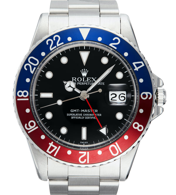Rolex GMT-Master Transitional Pepsi Insert Ref: 16750 (1981)