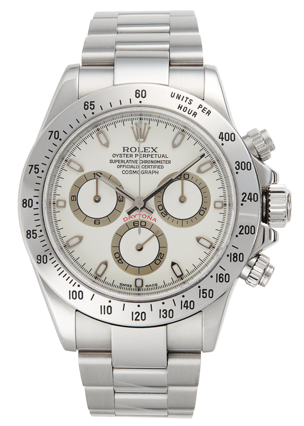 Rolex Daytona Cream 'Panna' Dial, Box & Papers (116520)