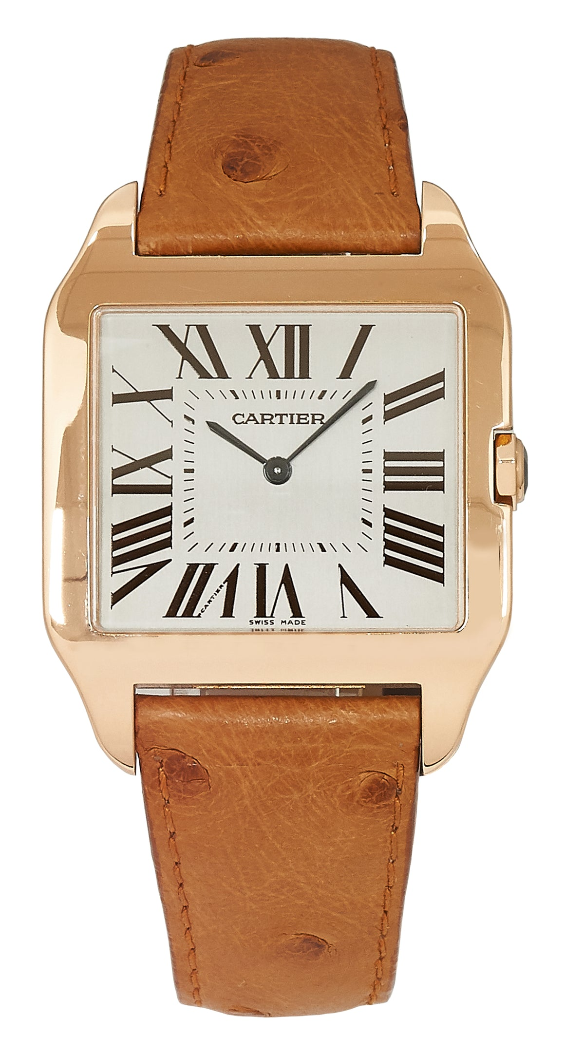 Cartier Santos Dumont, Rose Gold. Ref: 2650