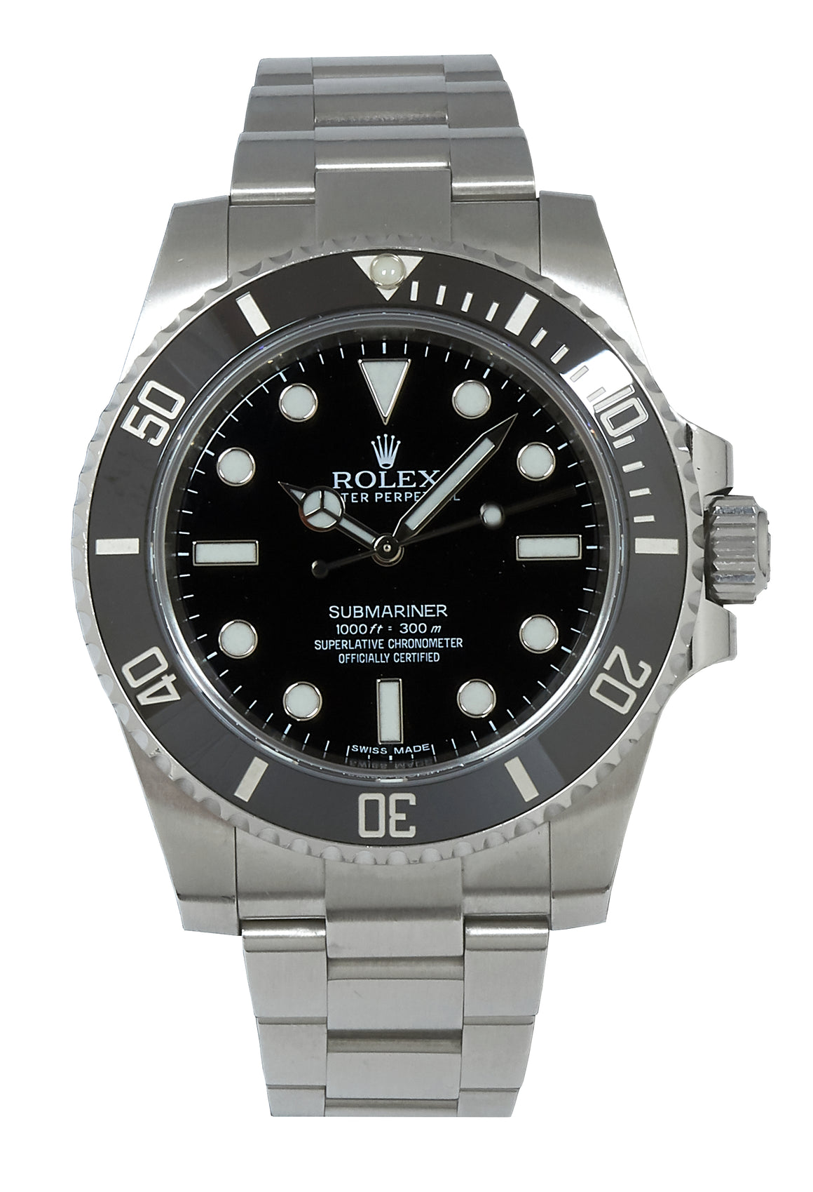 Rolex Submariner (No Date), Ref: 114060