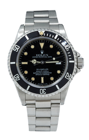 Rolex Sea-Dweller With Rare Reference: 16660, With Service Papers