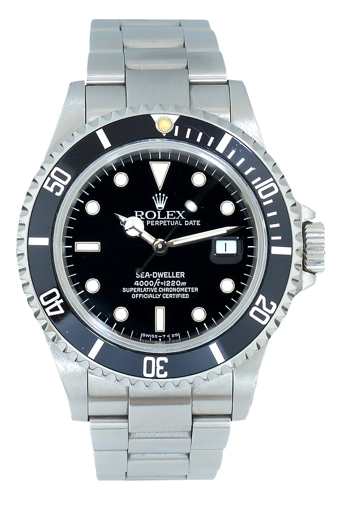 Rolex Sea-Dweller Ref: 16600, With Papers