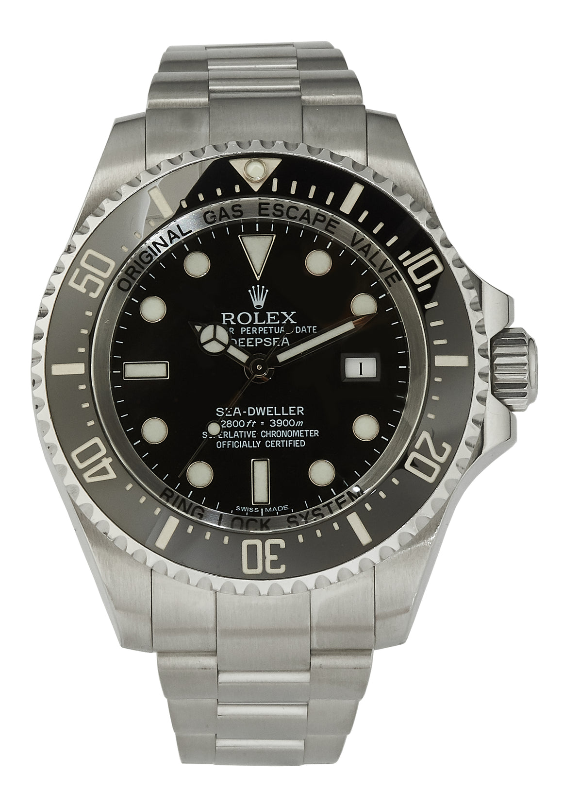 Rolex Sea-Dweller Deepsea, Box & Papers, 2010