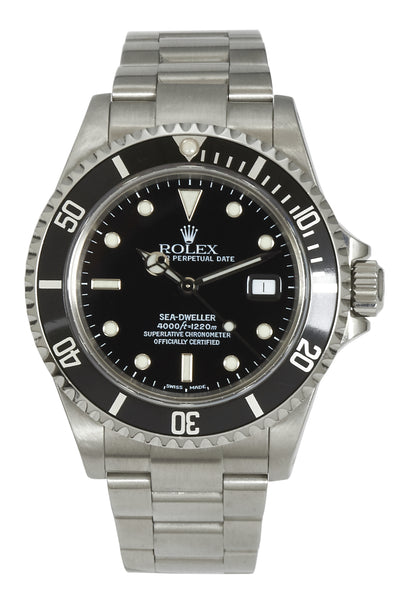 Rolex Sea-Dweller 4000, Rolex Paperwork (2001)