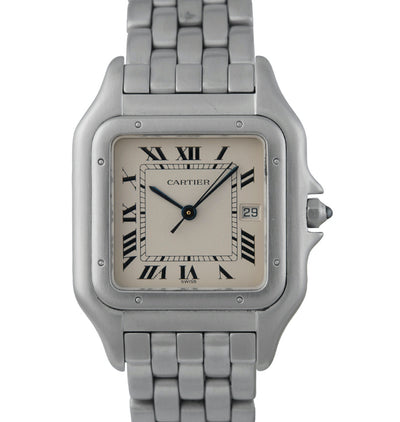 Cartier Panthere Gents Stainless Steel Watch, Ref: 1300