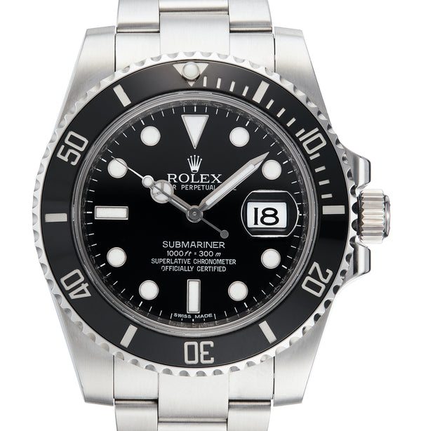 Submariner Date Ceramic, Ref: 116610LN (B&P 2010)