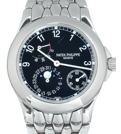 Patek Philippe Steel Neptune Power Reserve Moon-phase (Archives)