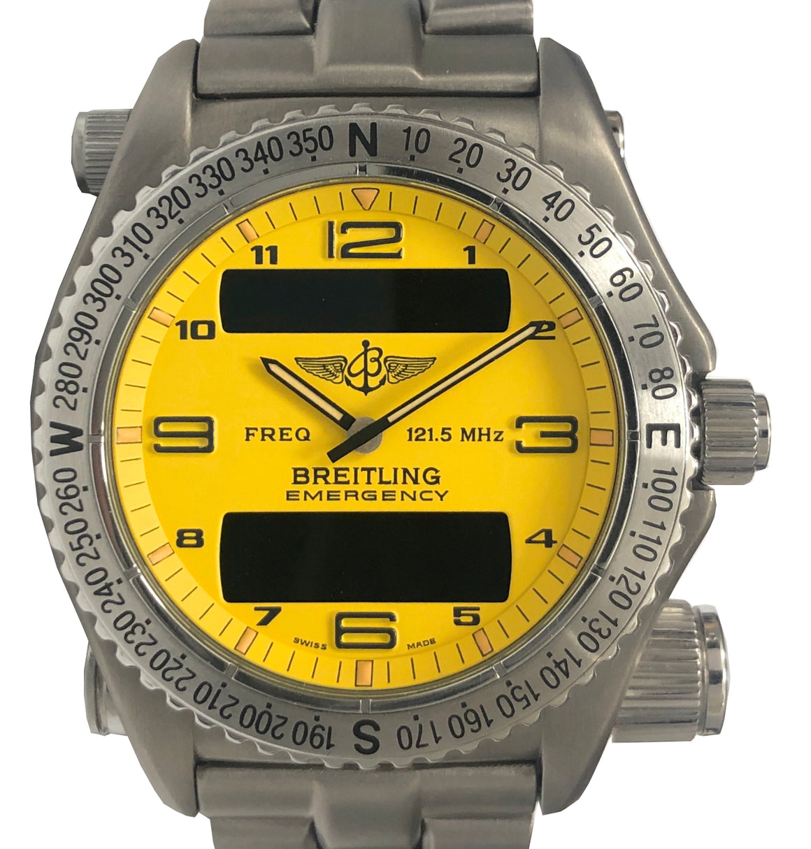 Breitling Titanium Emergency, Yellow Dial