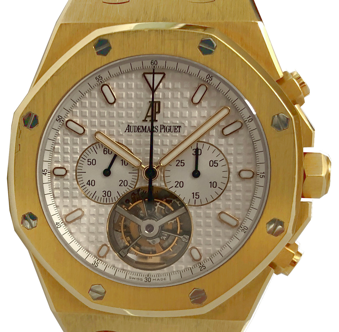 Audemars Piguet Royal Oak Tourbillon Chronograph 18k Yellow Gold