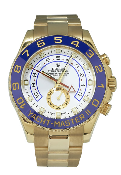 Rolex Yacht-Master II Yellow Gold, 116688 B&P