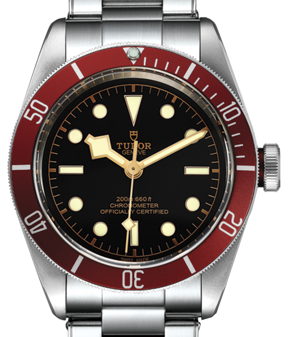 Tudor Black Bay Red, Steel Bracelet. Ref: 79230R (Unworn 2020)
