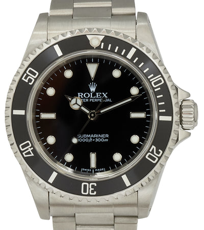 Rolex Submariner (No Date), Ref: 14060M (papers)