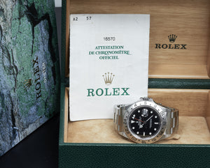 Rolex Explorer II, Black Dial 'Swiss Only', Ref: 16570 (B&P 1999)