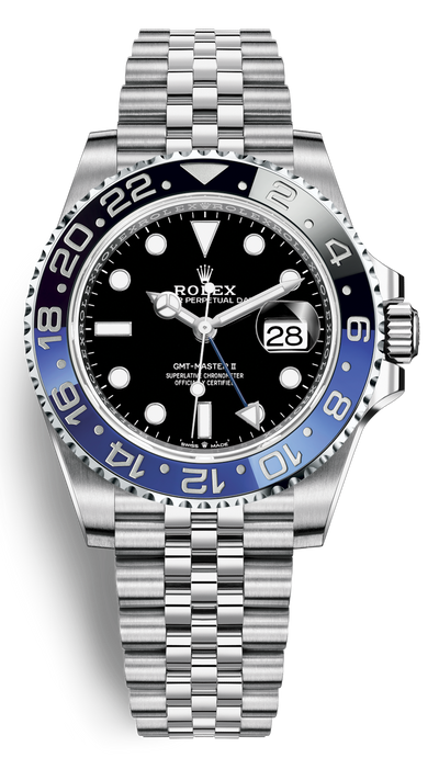 "Rolex GMT-Master II ""Batgirl"", Dec 2019 Unworn (B&P)"