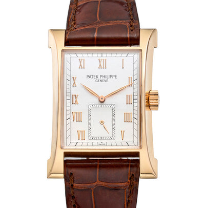 Patek Philippe Pagoda Rose Gold, Unworn NOS Full Set (Ref: 5500R)