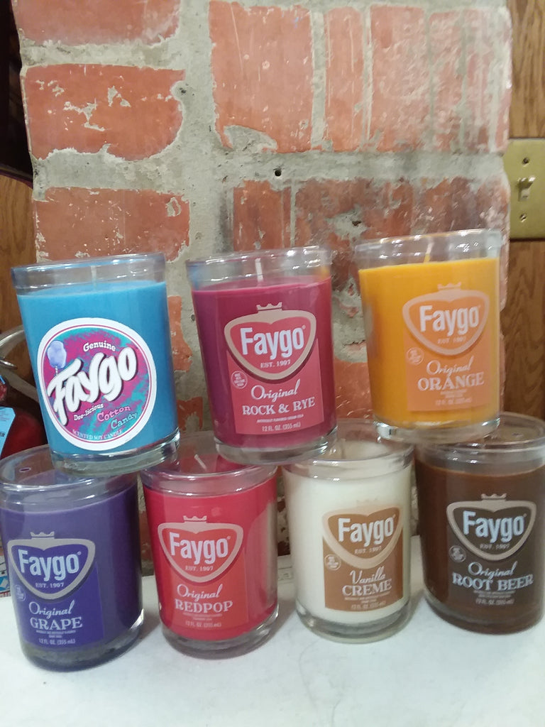 8oz Faygo Candle