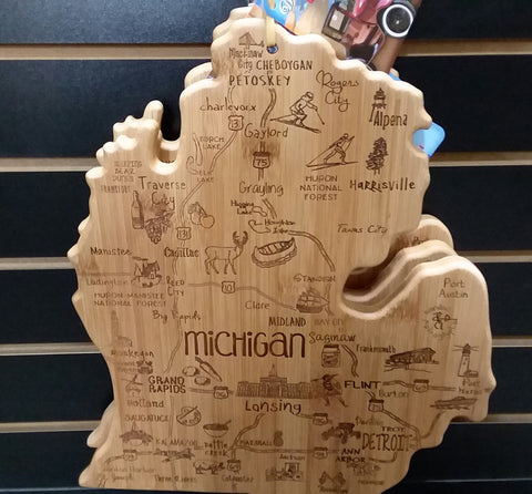 Michigan Cutting and Serving Board
