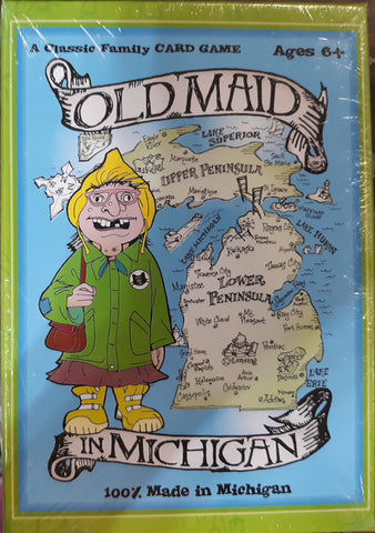 Old Maid in Michigan Card Game