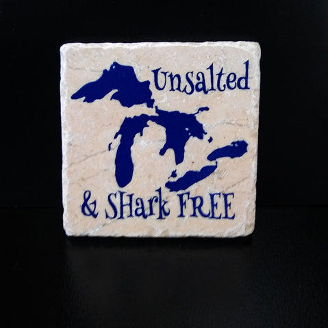 Michigan Travertine Coasters