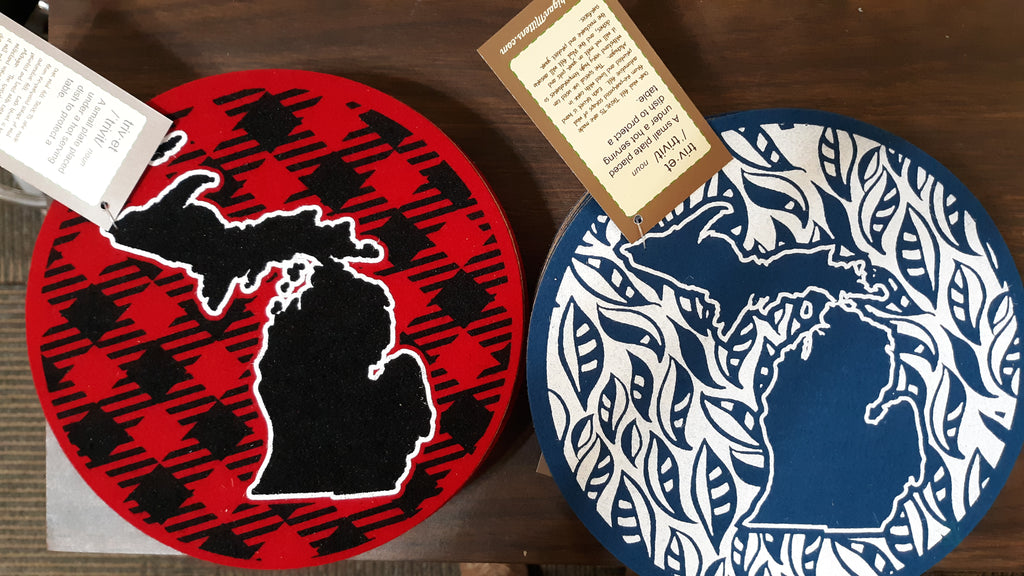 Michigan Wool Felt Trivet