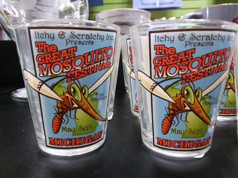 Great Mosquito Festival Shot Glass