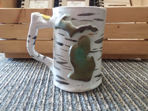 Michigan Birch Mug(tall)