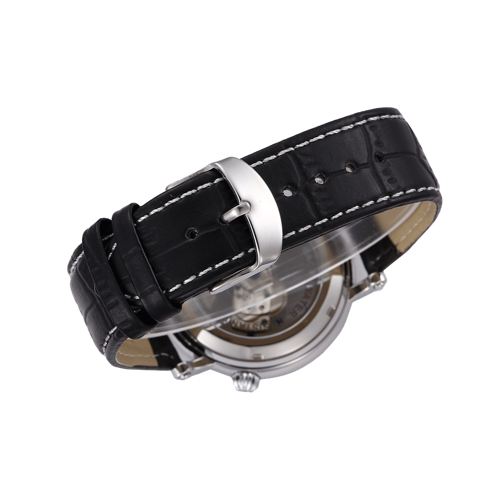 Bronear Ramsay Silver/Black Buckle