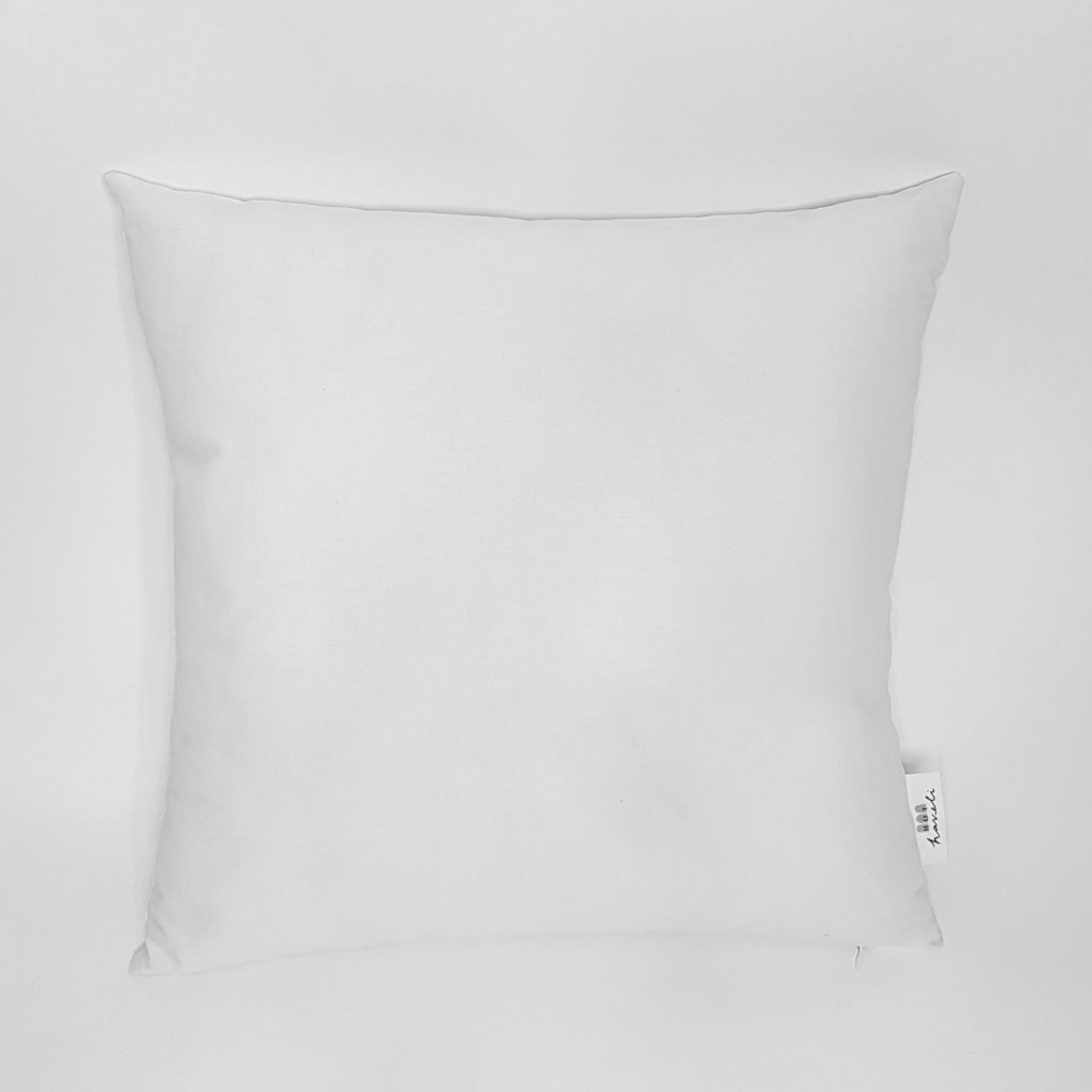 hot haveli unity botanical leaf white cushion back