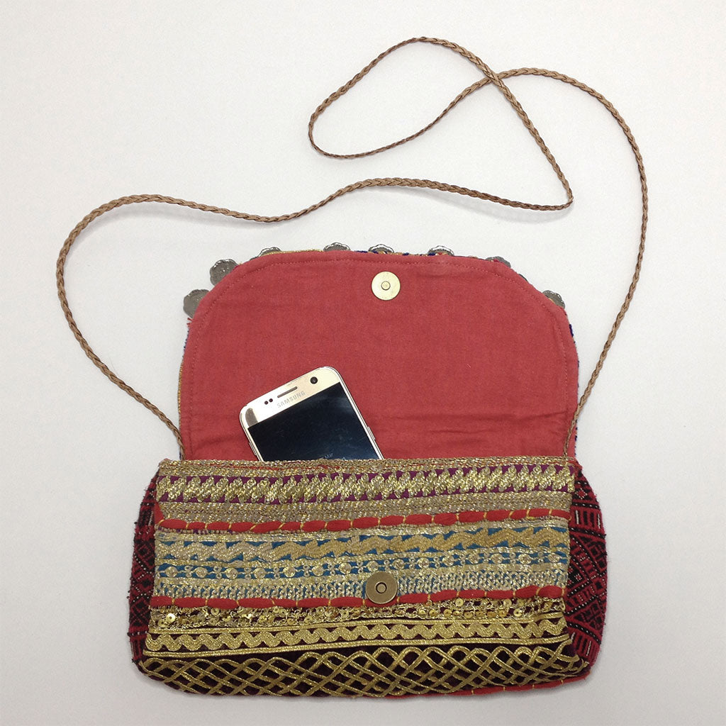 hot haveli talaia vintage embroidered clutch bag styled phone