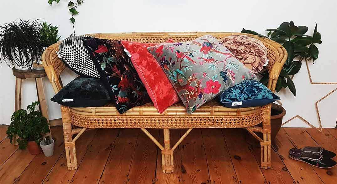 Hot Haveli handmade cushions
