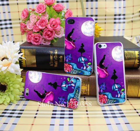 Alice & Absolem iPhone case