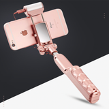 Bluetooth Selfie Stick with light mirror