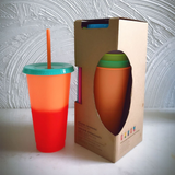 Colour Changing Reusable Tumbler