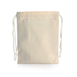 Drawstring Canvas Pouch Big
