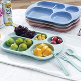Children's Plate Set (With Chopsticks, Spoon, Fork)