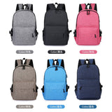 Anti-Theft Backpack smart USB charging shoulder bag