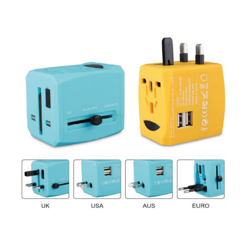 2100mA USB Travel Adaptor with 2 Hub