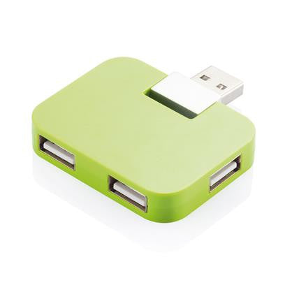 Portable USB Hub with 4 USB 2.0 Ports