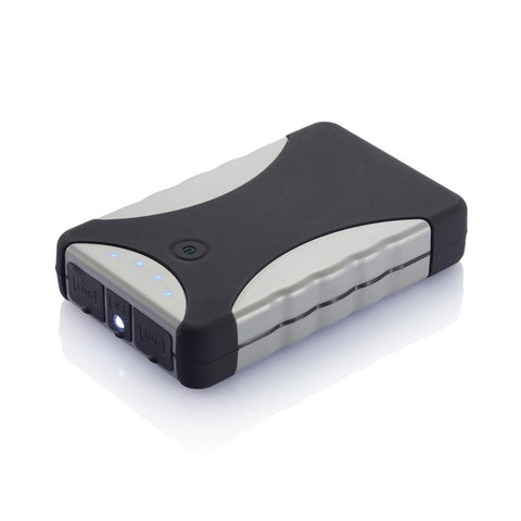 Swiss Peak Powerbank 8.800mAh, Grey/Black