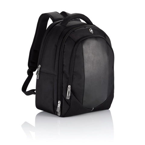 Swiss Peak Laptop Backpack, Black