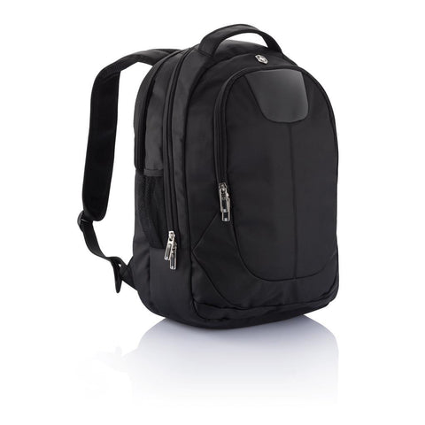Swiss Peak Outdoor Laptop Backpack, Black